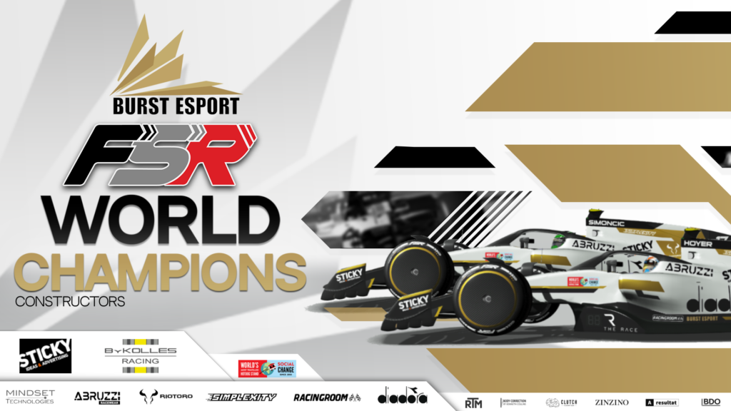 BURST ESPORT ARE DOUBLE WORLD CHAMPIONS